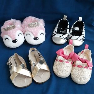 Other - 4 Pairs of Baby Girl Shoes